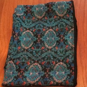 Cleo Scarf Floral Patterned